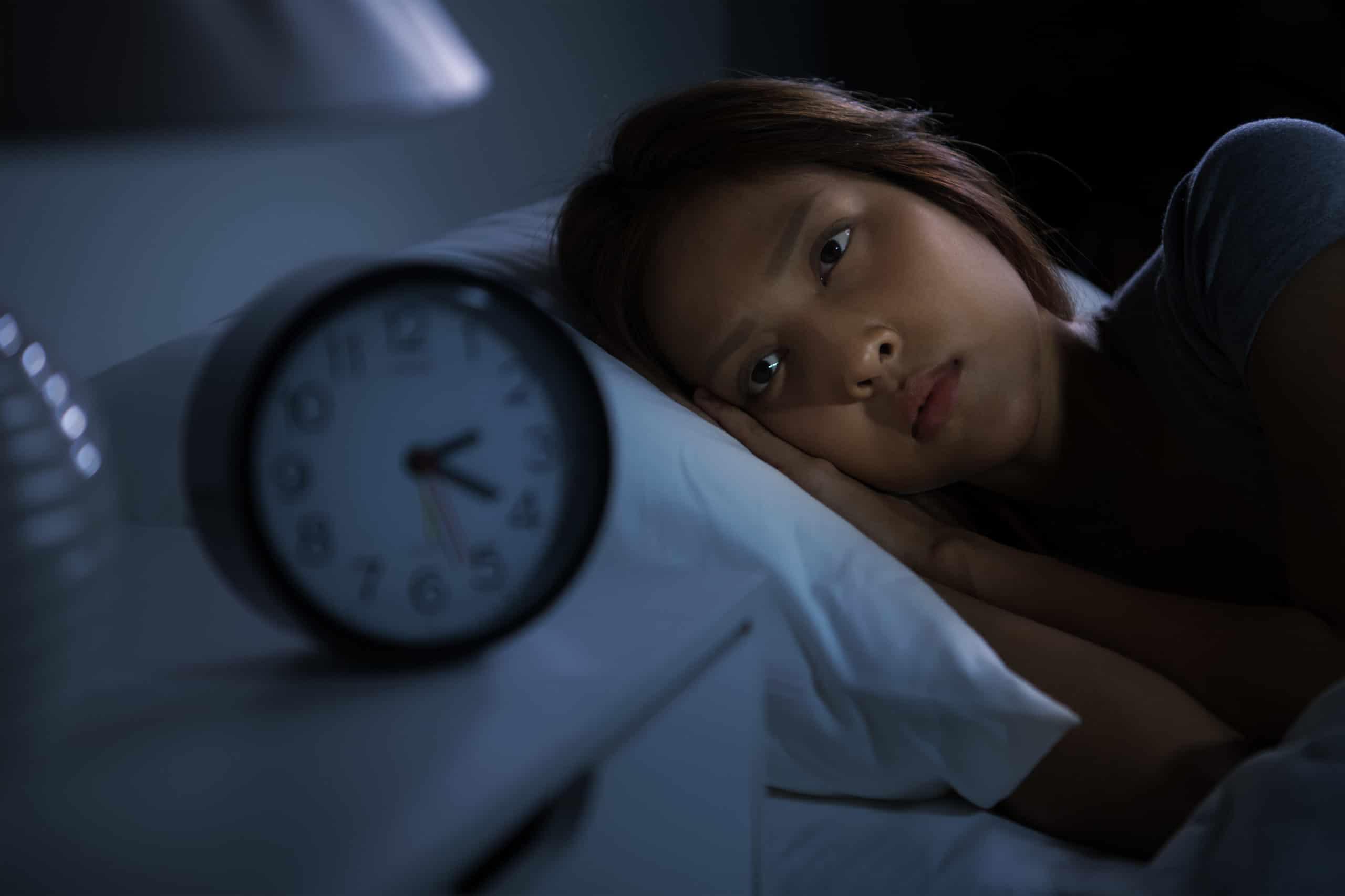 Frau Schlaflosigkeit